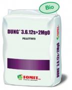 Fomet organsko gnojivo dung 3 6 12 s 2mgo