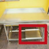 Radni stol za staklenik plastenik oprema donja polupolica