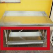 Radni stol za staklenik plastenik oprema donje korito
