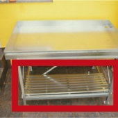 Radni stol za staklenik plastenik oprema rešetka