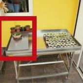 Radni stol za staklenik plastenik oprema radna ploča