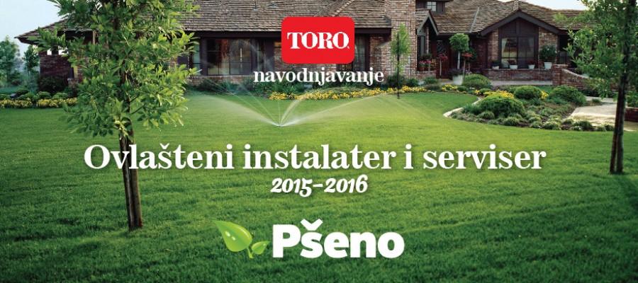 Pšeno d.o.o. i dalje ovlašteni instalater i serviser TORO